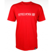RED 20 YEAR T-SHIRT W/ MIDDLE LOGO