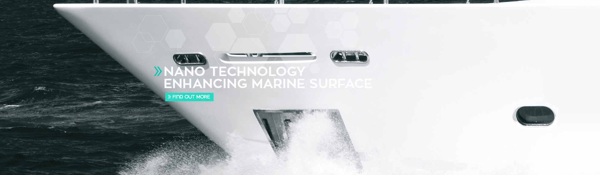 Nano technology enhanced marine surface